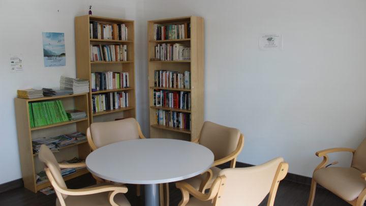 Photgraphie de la salle de détente du premier étage