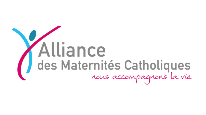 Logo de l'Alliance des Maternités Catholiques.