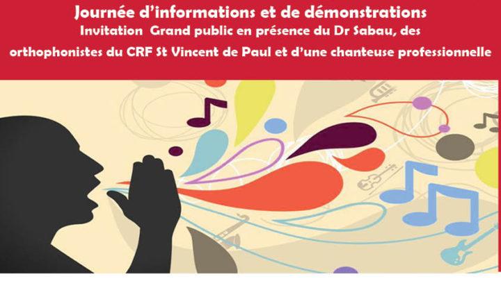 Invitation à la journée d'information le samedi 8 octobre 2017